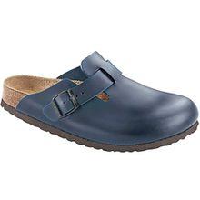 BIRKENSTOCK Unisex Schuhe Damen und Herren Boston SFB Clog, Pantoffel, Softes Fußbett, Blau(Desert Soil Night), EU 40, Normal