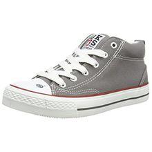 Dockers by Gerli 38AY603-710, Unisex-Kinder Hohe Sneakers, Grau (Grau 200), 39 EU