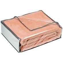 Rayen 2033.01 Aufbewahrungshülle für Bettdecken, Daunen, 65 x 55 x 20 cm