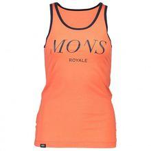 Mons Royale - Women's Classic Racer Back Tank Serif - Tank Top Gr L;M;S;XS grau;orange