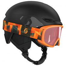 Scott - Kid's Combo Helmet Keeper 2 + Goggle Witty - Skihelm Gr S blau/schwarz