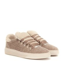 Sneakers mit Faux Fur