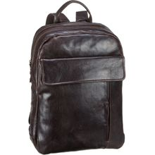 aunts & uncles Laptoprucksack Logan Dark Cigar