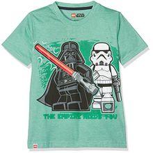 Lego Wear Jungen T-Shirt Star Wars Darth Vader 71171 (116)