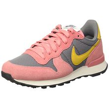 Nike Damen Wmns Internationalist Low-Top, Grau (Cool Grey/Gold Dart/BRT Melon/Sail/Black), 38.5 EU