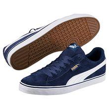 Puma Unisex-Erwachsene 1948 VULC Sneaker, Blau (Blue Depths-White), 44.5 EU
