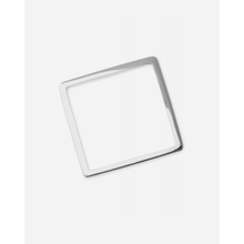 By Boe Ring Square Shape Silber - Silber / 53