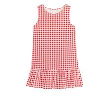 Frill Tank Dress - Red