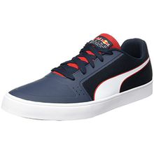 Puma Unisex-Erwachsene RBR Wings VULC Sneaker, Blau (Total Eclipse-White-Chinese Red), 43 EU
