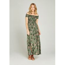 Apricot Maxikleid »Shadow Floral Gypsy Maxi Dress« mit Bardot-Ausschnitt