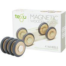 TEGU 5700335 Magnetische Räder, 4 Stk.
