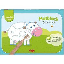Buch - Kreativ Kids: Malblock Bauernhof