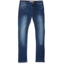 NAME IT Mädchen Jeans Nkfrose Dnmtatiana 3002 Pant Noos, Blau (Dark Blue Denim), 134