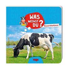 Buch - Was meinst du? Bauernhoftiere