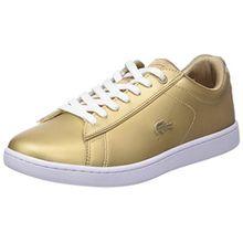 Lacoste Damen Carnaby Evo 118 1 SPW Sneaker, Gold (or Gld/WHT), 40.5 EU