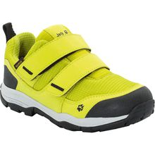 JACK WOLFSKIN Sneakers Low gefüttert MTN ATTACK 3 TEXAPORE LOW für Jungen lime Junge