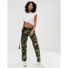 Dickies – Combat-Hose mit Taschen und Military-Muster-Grün