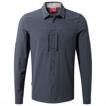 Craghoppers - Nosilife Nuoro L/S Shirt - Hemd Gr L;M;S;XL;XXL beige/weiß;schwarz/grau/blau;oliv/grau/braun/schwarz;grau