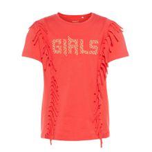 NAME IT Fransen T-Shirt rot