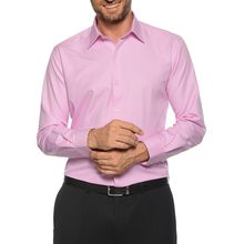 Milano Hemd Custom Fit in rosa für Herren