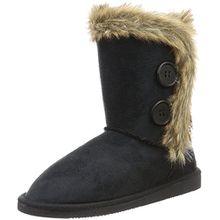 Canadians Damen Boots Schlupfstiefel, Schwarz (000 Black), 41 EU