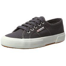 Superga 2750 Cotu Classic, Unisex-Erwachsene Sneaker, Grau (Dk Grey Iron), 46 EU (11 UK)