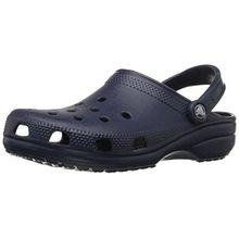 crocs Classic, Unisex Erwachsene Clogs, Blau (Marineblau) - Größe: 44 EU Männer/45 EU