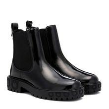 Chelsea Boots Gancini aus Leder