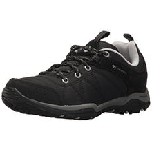 Columbia Damen Sneakers, Fire Venture Textile, Schwarz (Black, Grey Ice), Größe: 39.5
