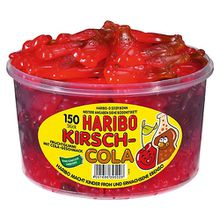 HARIBO Kirsch-Cola, Dose mit 150 St.
