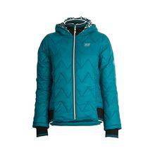 TAO Sportswear Wasserabweisende Damen Kapuzenjacke mit Zippverschluss WADDY JACKE Outdoorjacken grün Damen