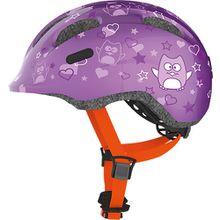 Fahrradhelm  Smiley 2.0, lila star