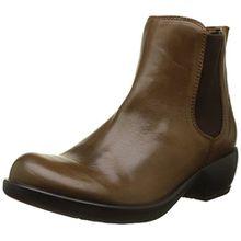 FLY London Damen Make Chelsea Boots, Braun (Camel 022), 41 EU