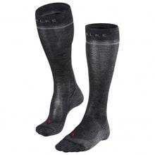 Falke - Women's Energizing Wool - Kompressionssocken Gr 35-38 - W1: Calf 30-35 cm;35-38 - W2: Calf 36-40 cm;39-42 - W2: Calf 36-40 cm schwarz