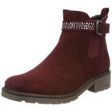 Jenny Damen Dover-STF Chelsea Boots, Rot (Burgundy), 39 EU (6 UK)