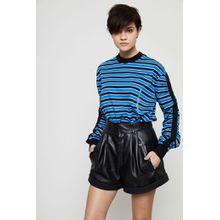 Givenchy Gestreiftes Longsleeve Schwarz/Multi - 100% Baumwolle
