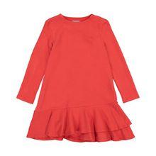 Il Gufo Mädchen-Kleid - Rot (104, 116, 128, 140, 152)