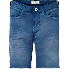 Scotch & Soda Shrunk Jungen 5-Pocket Rocker Short, Blau (Worker Blue 081), 176 (Herstellergröße: 16)