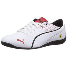Puma Drift Cat 6 L SF Jr, Unisex-Kinder Sneakers, Weiß (white-white-black 04), 34 EU (1.5 Kinder UK)