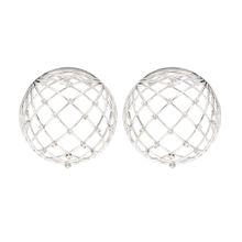 Ohrringe Globe mit Kristallen
