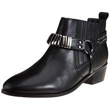 Bronx Damen BX 1264 Btexx Stiefel, Schwarz (Black), 36 EU