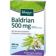 Kneipp Gesundheit Nahrungsergänzung Baldrian 500 mg 1 Stk.