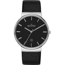 SKAGEN Uhr 'SKW6104' schwarz / silber