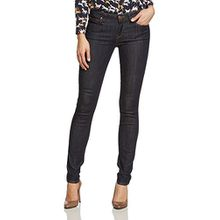 Lee Damen Skinny Jeans SCARLETT, Gr. W25/L31, Blau (ONE WASH 45)