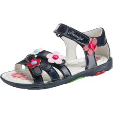 PRIMIGI Sandalen für Mädchen, Blumen blau / hellpink / rot / weiß