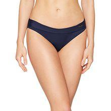 LASCANA Damen Bikinihose Umschlaghose, Blau (Navy 24), 44