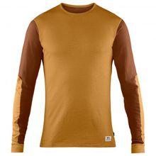 Fjällräven - Keb Wool T-Shirt L/S - Merinounterwäsche Gr 3XL;L;M;S;XL;XXL oliv/schwarz;braun/orange