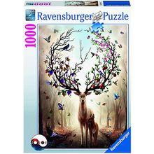 Puzzle Magischer Hirsch, 1.000 Teile