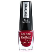 Isadora Gel Nail Lacquer Rhapsody Red Nagellack 6.0 ml