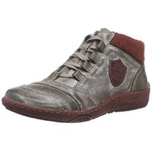 Remonte D3871, Damen Hohe Sneakers, Grau (grau/cigar/wine/bordeaux/42), 41 EU (7.5 Damen UK)